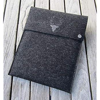 zigbaxx Tablet Hülle WOOD STAR Case Sleeve Filz u.a. für iPad 9.7, iPad Pro 9,7/10,5/11 Zoll (2018), iPad mini 2/3/4…