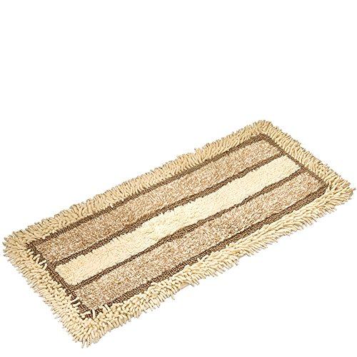 Einfacher Böhmischer Saugfähiger Teppich Weiche Baumwolle 1.6cm Dick Kreativer Gestreifter Teppich Baby Haustier Rutschfester Teppich Maschinenwaschbar (Size : 45cm*150cm) -