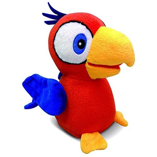 Club Petz Charlie Funny Talkie Parrot Soft Toy by Club Petz