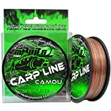 Angel-Berger Magic Baits Carp Line Camou Angelschnur Monofile Schnur (300m, 0,35mm)