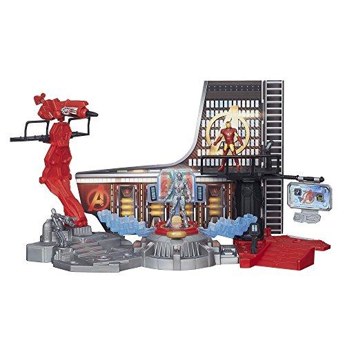 Hasbro avengers - marvel age of ultron, il laboratorio di iron man