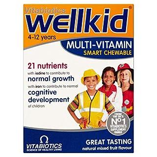 Vitabiotics Wellkid Multi-Vitamin Smart Chewable - 30 Tablets (B0013G4DPI) | Amazon price tracker / tracking, Amazon price history charts, Amazon price watches, Amazon price drop alerts