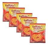 #4: Big Bazaar Combo - Saffola Masala Oats Peppy Tomato, 40g (Buy 4 Get 1, 5 Pieces) Promo Pack