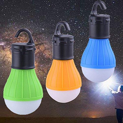 Preisvergleich Produktbild 3 PCS LED Tent Lamp,  HXLONG Camping Lantern Lamp Emergency Light Waterproof Portable Bulb for Hiking Fishing Camping Household Car Repairing