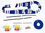 FireCloud Cycles LAZY TOWN SPORTICUS 10 Kids BICYCLE Bike STICKER SET (Boys) in BLUE New