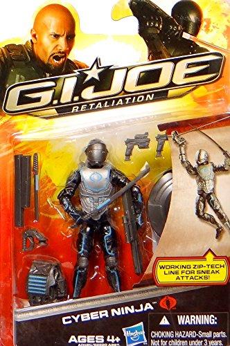 G.I. Joe Cyber Ninja with Working Zip Tech Line for Sneak Attacks - Retaliation - Actionfigur von Hasbro