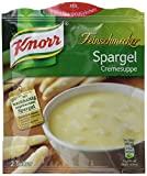 Knorr Feinschmecker Spargelcreme Suppe, 8 x 2 Teller (8 x 500 ml)