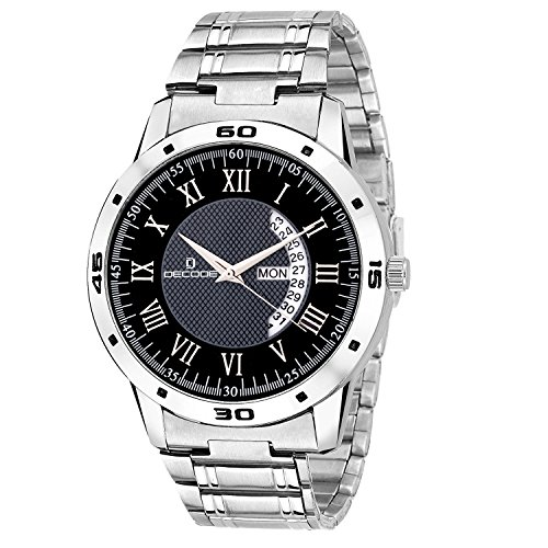 Decode 5042-CH Black Matrix Collection Day & date Watch for Men/Boys