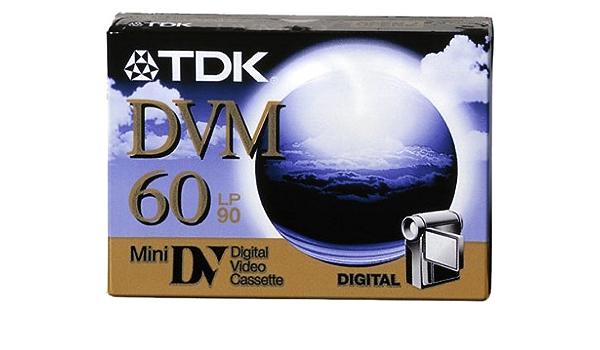 Tdk Dvm Me 60 Dv Kassette Kamera