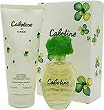 Cabotine pour Des Femme Coffret - 100 ml Eau de Toilette Vaporisateur + 200 ml Body Lotion