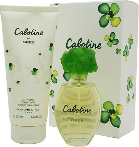 Cabotine By Parfums Gres For Women. Set-edt Spray 3.3 Ounces & Body Lotion 6.8 Ounces by Parfums Gres