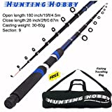 #6: Fishing 15 Feet Telescopic Rod, Free Travelling Bag