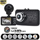 Coche cámaras, weant 1080P HD coche DVR vehículo IR cámara de vídeo grabadora de coche Dash Cam G-sensor vídeo continuo de bucle