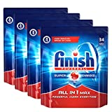 #7: Finish All in 1 Max Powerball - 136 Tablets (Pack of 4)