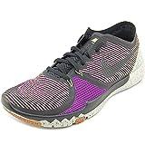 Trainer Free 3.0 V4, Negro / voltio-viva-púrpura lunar gris, 9,5 M con nosotros