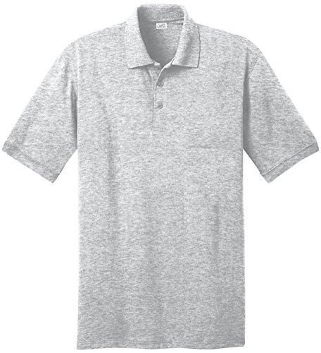 Joe's USA Youth Poloshirts in 12 Farben Jugendgrößen: XS-XL - Grau - XL -