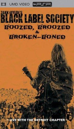 Preisvergleich Produktbild Black Label Society - Boozed,  Broozed & Broken Boned (UMD Mini for PSP)