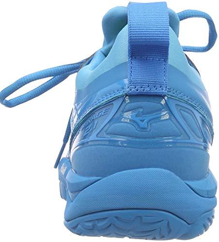 Mizuno Herren Shoe Waver Mirage Sneakers, Blau (Bjewel/Wht/Hocean 001), 46.5 EU - 2