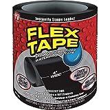 """Flex Seal Flex Tape Black 4"""" X 5'"""