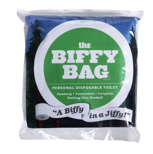 Biffy Bag Puzzle Sac Format de Poche jetables Toilettes, Classique, Classique, 1 pièce