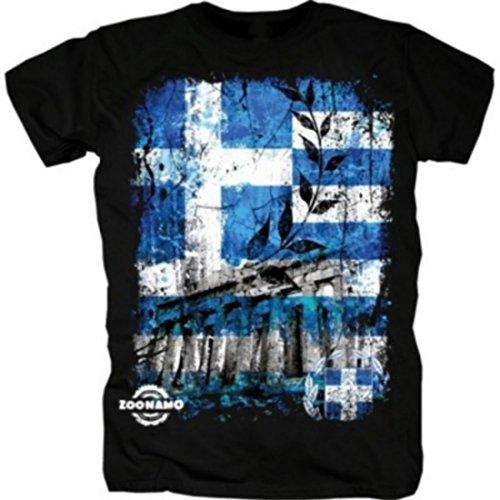 Zoonamo Griechenland Classic Shirt schwarz M