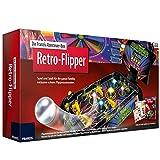 Abenteuer-Box Retro-Flipper mit realgetreuen Geräuschen und LIchteffekten ab 8 Jahren • Abenteuer Box Retro Flipper Automat Arcade Maschine Kult Pinball Spiel Experiementier Box Kasten S