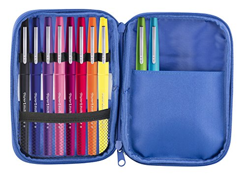 paper-mate-flair-original-fibre-tip-pen-medium-10mm-assorted-colours-pack-of-10