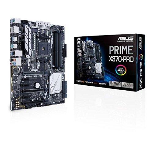 Motherboard ASUS Prime x370-pro S11504D4VGA 1PCIE 8U3m.2GBL HDMI DVI (Bl Motherboard)