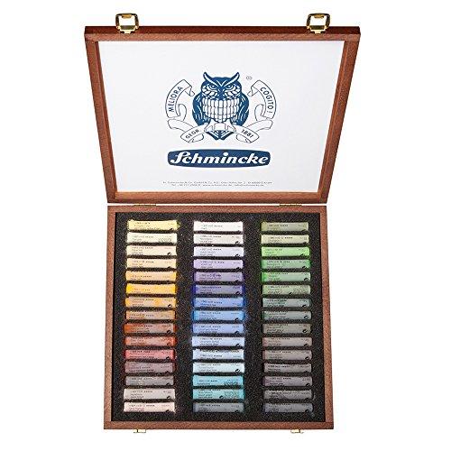 schmincke-pastels-surfins-extra-tendres-pour-artistes-coffret-en-bois-teint-noyer-45-btons-paysage