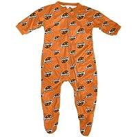 Oregon State Beavers Toddler Full Zip Raglan Coverall Sleeper