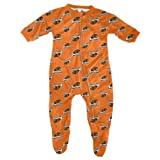 Oregon State Beavers Toddler Full Zip Raglan Coverall Sleeper