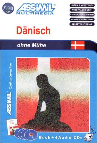 Dänisch ohne Mühe (1 livre + coffret de 4 CD) (en allemand)