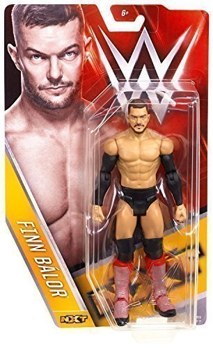 WWE FINN BALOR FIN NXT LOTTATORE ACTION SERIE BASIC 57 MATTEL WRESTLING FIGURE