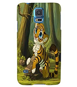 Citydreamz Tiger\Jungle\Wild\Animal Hard Polycarbonate Designer Back Case Cover For Samsung Galaxy Note 3