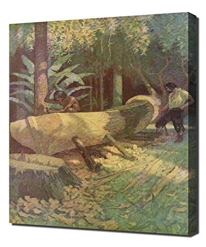 nc-wyeth-illustrationen-11-kunst-reproduktion-auf-leinwand-eine-hohe-qualitat-leinwand-kunstdruck