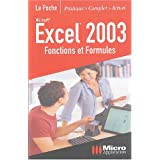 Excel 2003 : Fonctions et formules