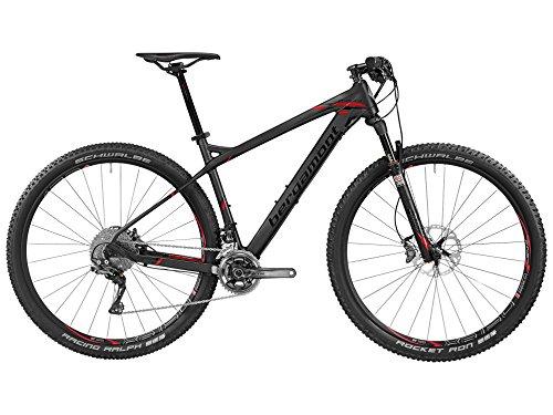 'Bergamont Revox MGN 29Carbon MTB bici nero/rosso 2016