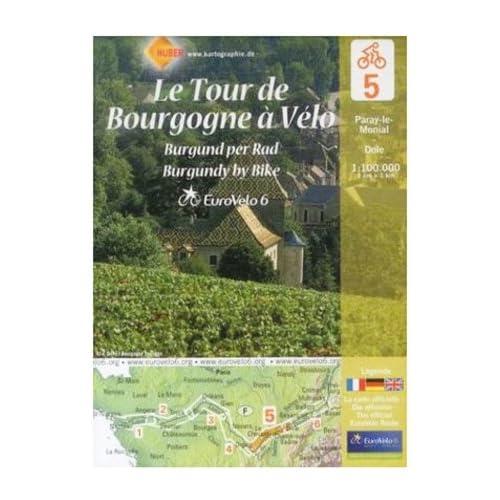 Le Tour de Bourgogne : Paray-le-Monial-Dole, 1/100 000