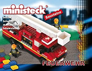 Desconocido Ministeck 24507 Bloques Escalera de Incendios de Camiones