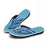 AN Sommer Männer Flip-Flops Strandmode Coole Hausschuhe Männer Casual Mode Flach mit Dick besohlten Pantoffeln,A,44