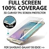S6 Edge Screen Protector  Premium Gel Anti Shock Screen Protector for Samsung Galaxy S6 Edge Front