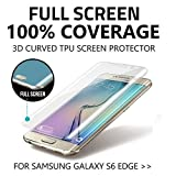 Tinxi Protection Film - Pack de 2 protectores de pantalla para Samsung Galaxy S6