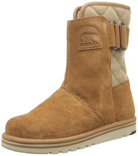 Sorel Damen Newbie Boots, braun (elk)/beige (british tan), Größe: 37