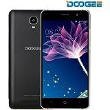 Doogee X10 Smartphone (12,7 cm (5 Zoll) IPS Display, 8 GB, Dual SIM, Android 6.0) schwarz