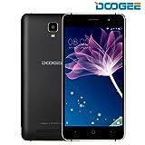 Telefonia Mobile, DOOGEE X10 Dual SIM Smartphone Android 6.0 - 3360mAh 3G Cellulari con 5.0 Pollici HD Schermo - 512M RAM+8GB ROM e 5.0MP Fotocamera Digitale - Nero - DOOGEE - amazon.it