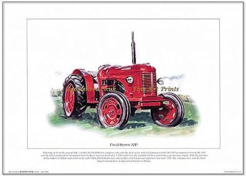 David Imprimé 30D Tracteur