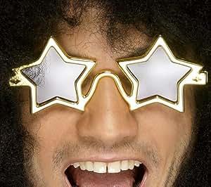Smiffy's Superstar Shades - Gold