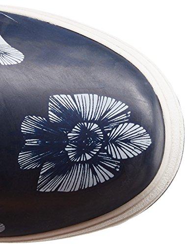 Helly Hansen Veierland 2 Graphic, Bottes de Pluie Femme Bleu marine / blanc (bleu marine / bleu veillée / écru)