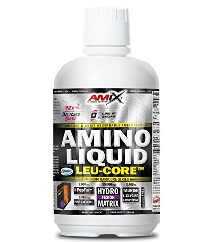 Amix Amino Liquid Leu-Core 920 ml - Sabor - Chocolate