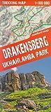 Drakensberge, Ukhahlamba NP 1:100.000 topographische Wanderkarte (RSA, Lesotho) - TerraQuest Editions
